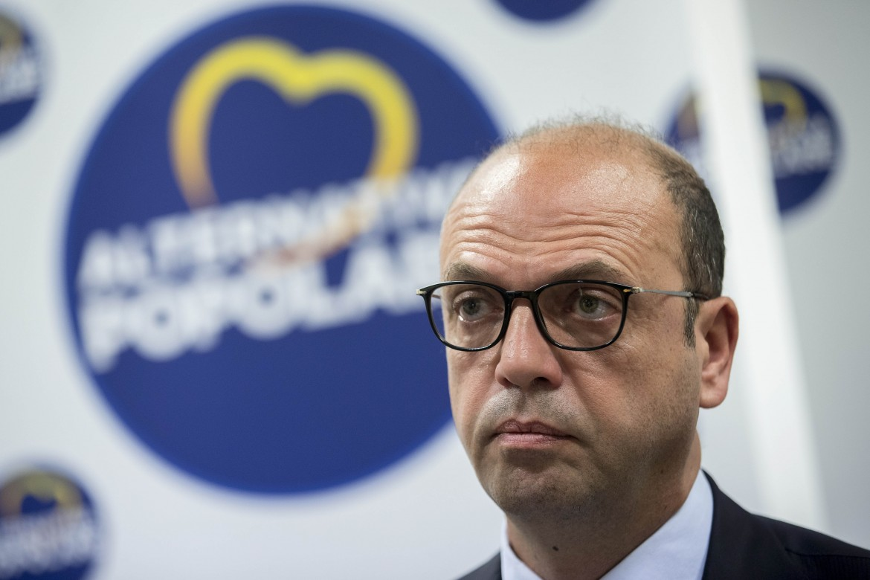 Angelino Alfano, leader di Alleanza Popolare è il partito ago della bilancia nelle alleanze per le Regionali in Sicilia