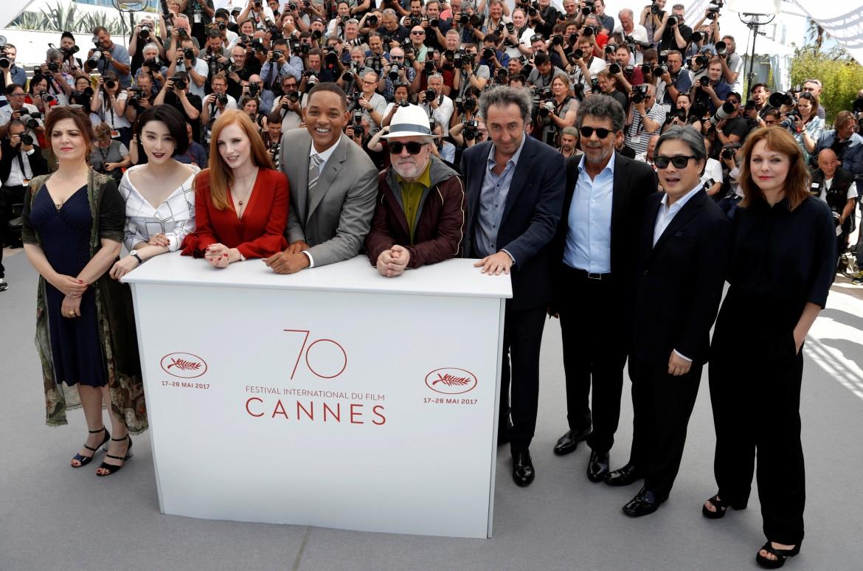 la giuria di Cannes 70
