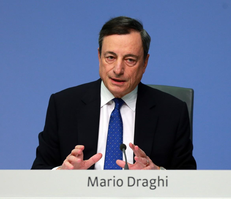 Il presidente della Bce, Mario Draghi