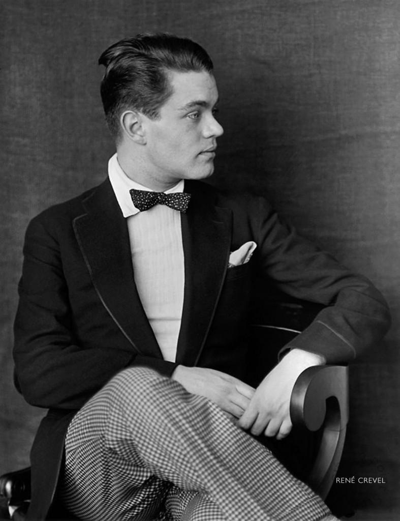 René Crevel a Parigi nel 1927 ritratto da Berenice Abbott