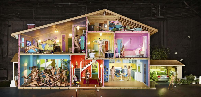 David LaChapelle, Self Portrait as House