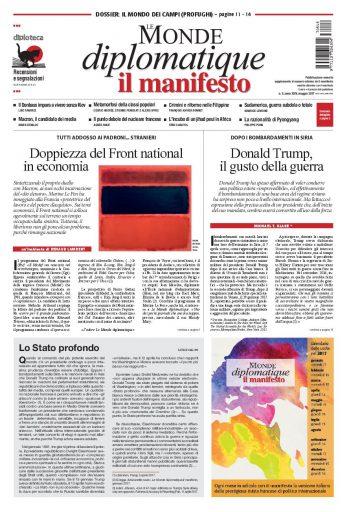 Le Monde diplomatique di maggio 2017