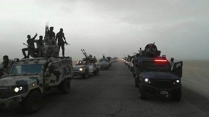 I rinforzi di Haftar alla base di Bakr al Shati sotto attacco