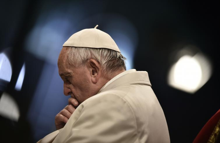 Il papa Bergoglio