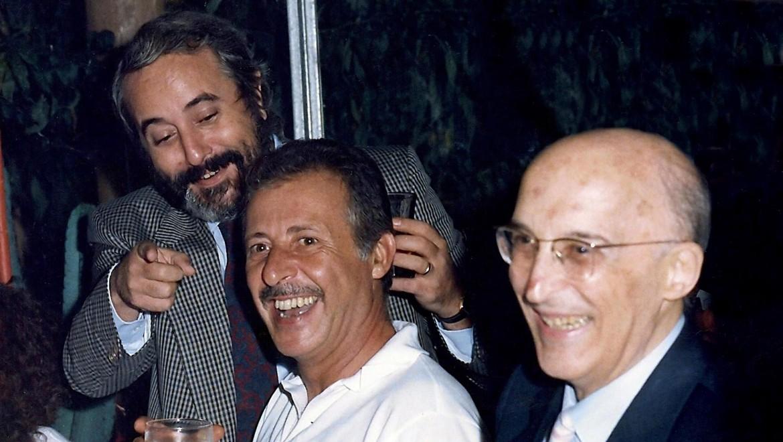 Giovanni Falcone, Paolo Borsellino e Antonino Caponnetto