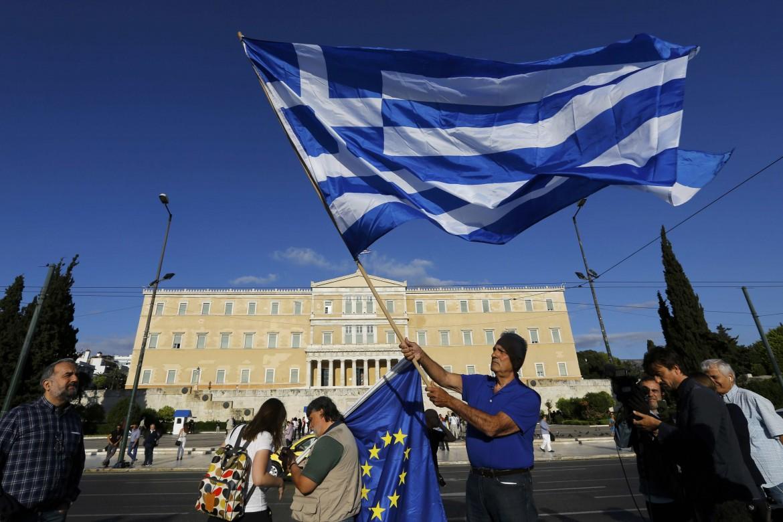 Manifestazione ad Atene