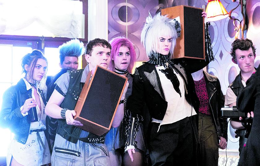 Una scena del film, in primo piano Nicole Kidman