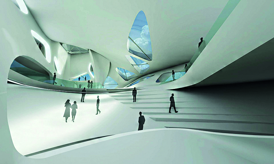 Nuragic and Contemporary Art Museum, di Zaha Hadid