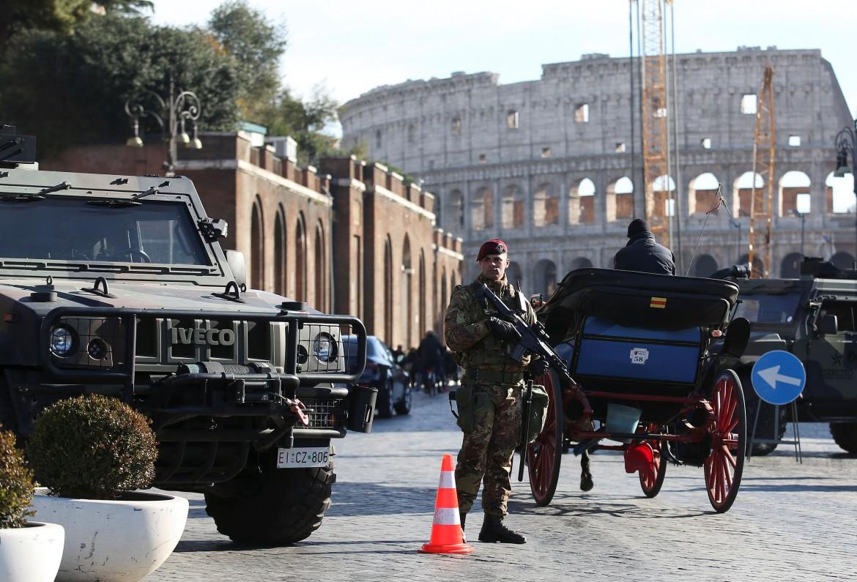 Misure di sicurezza a Roma