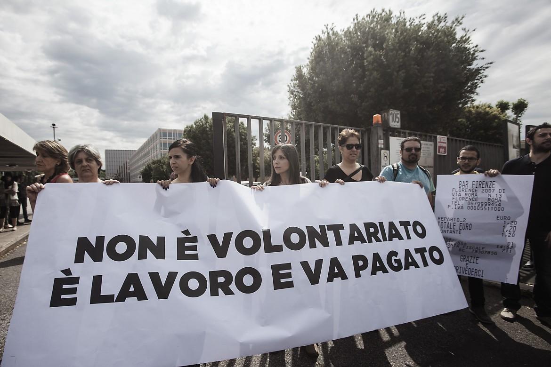 La protesta degli
