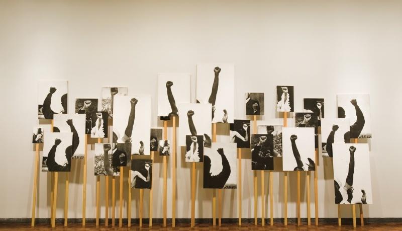 Annette Lemieux, «Left Right Left Right», 1995 / 2001