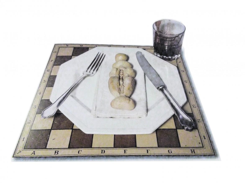 Meret Oppenheim,  «Bon Appétit Marcel», 1966