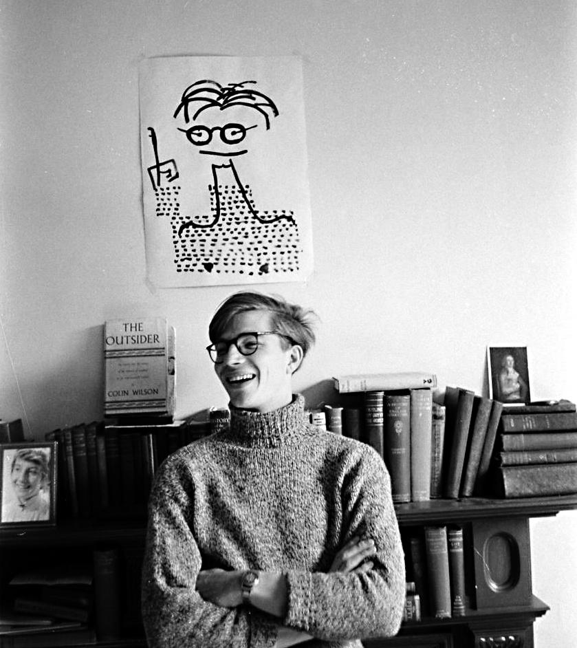 Colin Wilson nel 1956
