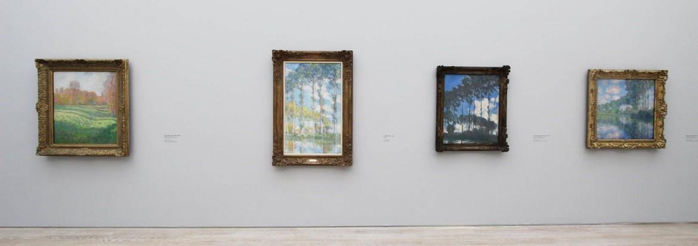 Uno scorcio della mostra di Monet a Basilea, Fondazione Beyeler