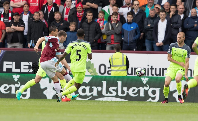Burnley Liverpool 2-0