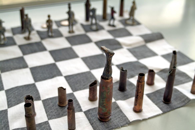 Hanaa Malallah's, «Stalemate Chess»