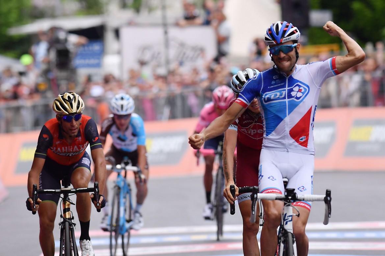 Pinot Thibaut vincitore della Tappa 20 - da Pordenone ad Asiago
