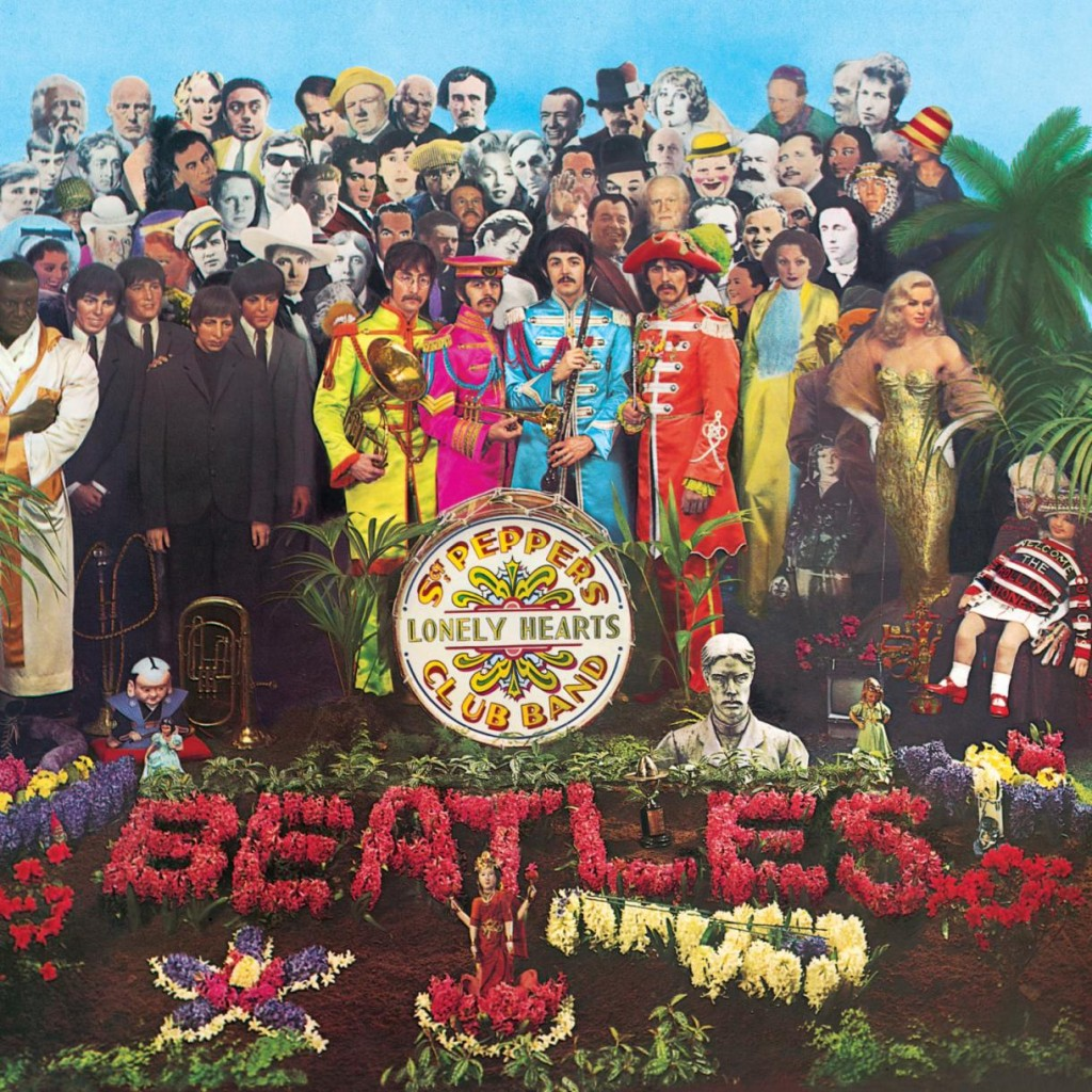 La copertina di Sgt. Pepper's Lonely Hearts Club Band, l'album dei Beatles del 1967
