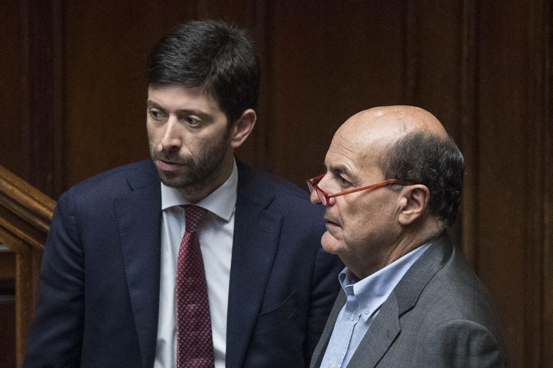 Roberto Speranza e Pier Luigi Bersani