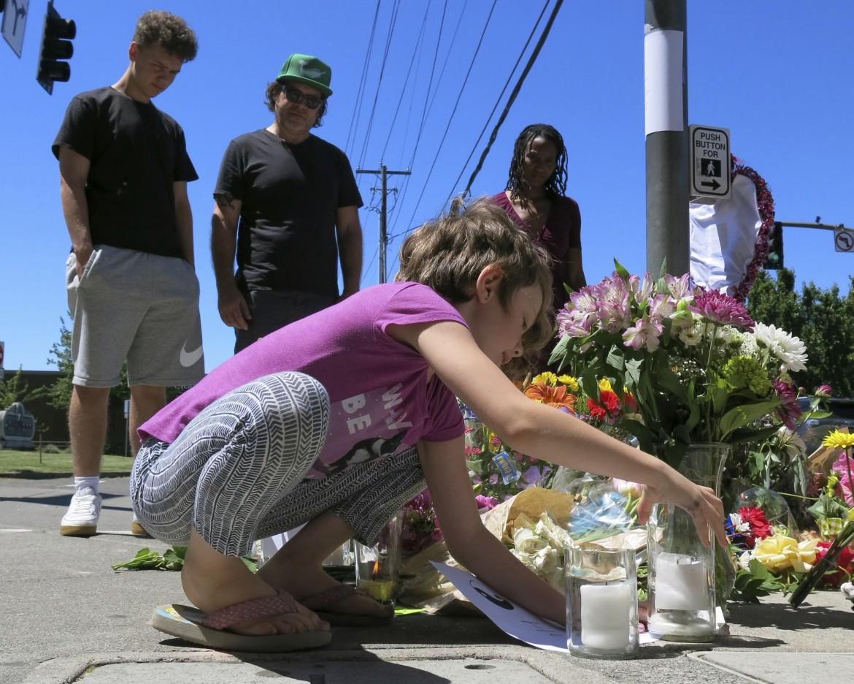 L'omaggio di Portland alle vittime