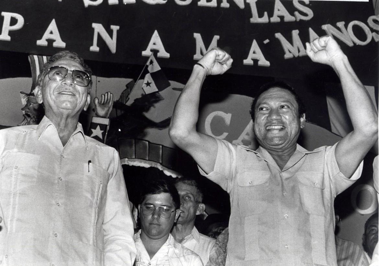 L'ex dittatore panamense Manuel Noriega