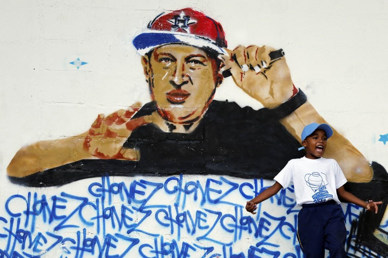 Un murales a Caracas