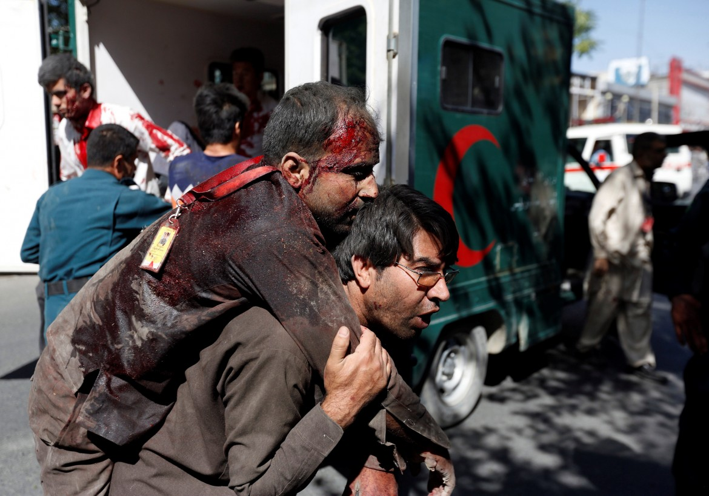 I feriti nell'attacco a Kabul del 31 maggio
