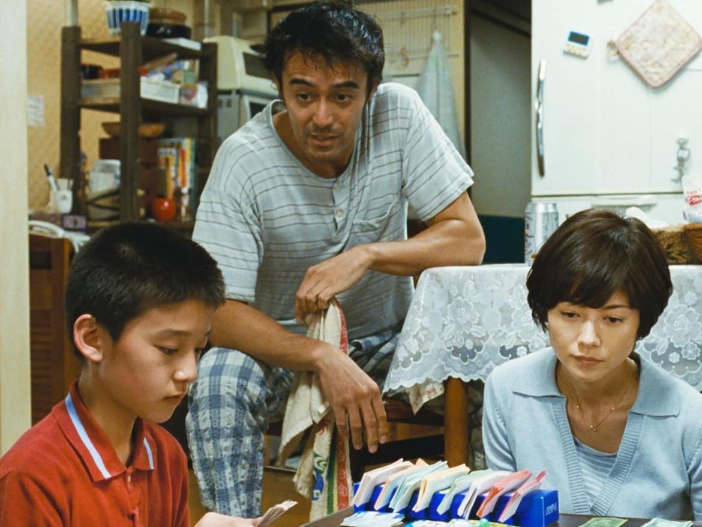 Hiroshi Abe, Kirin Kiki e Yko Maki in «Ritratto di famiglia con tempesta»