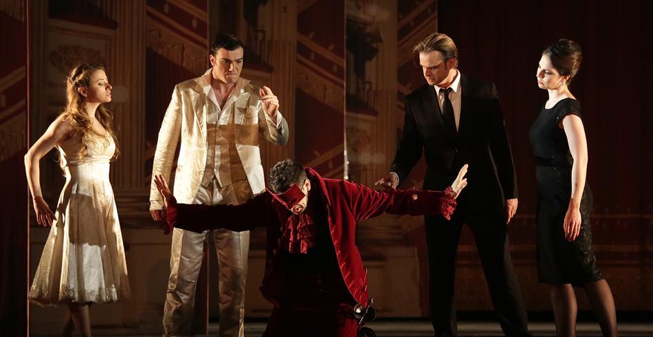 una scena dal Don Giovanni
