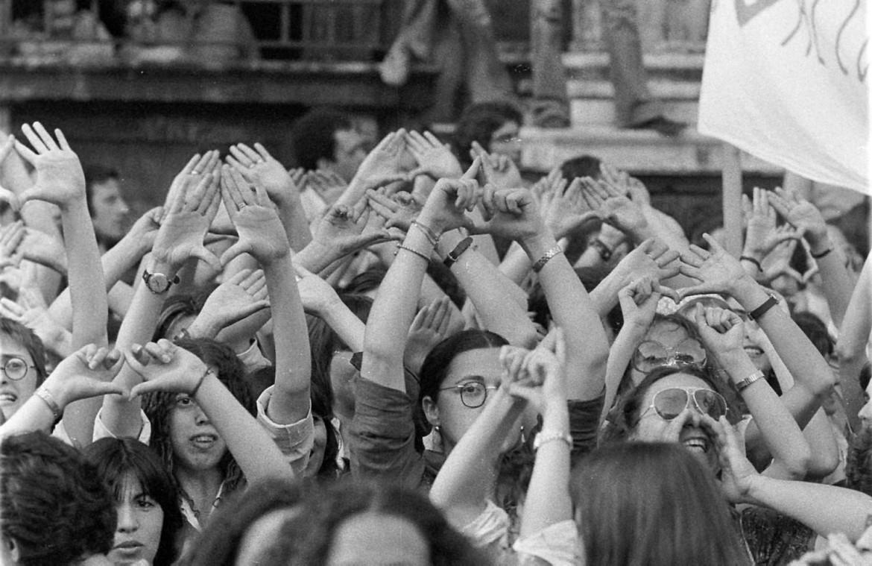 manifestazione femminista (1977)