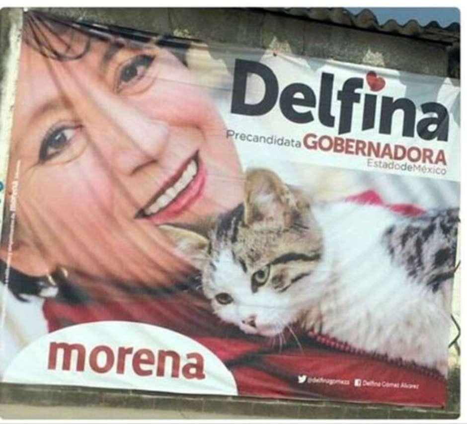 La candidata di Morena Delfina Gomez