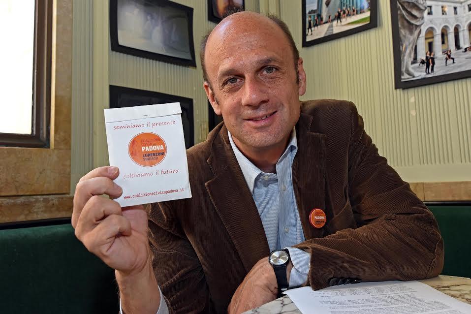 Arturo Lorenzoni, candidato sindaco a Padova