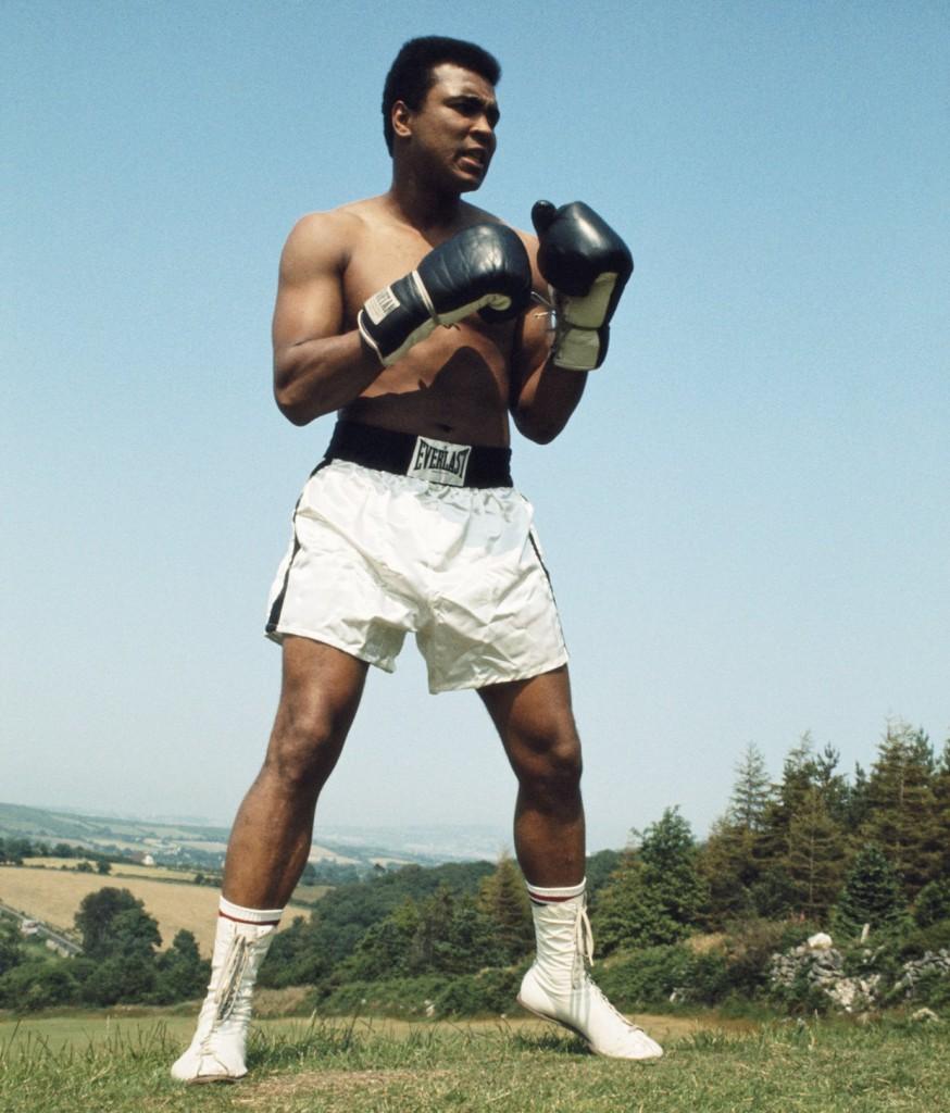Muhammad Ali nel 1972