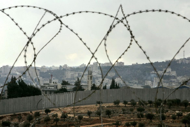 Il muro di separazione tra Betlemme e Gerusalemme