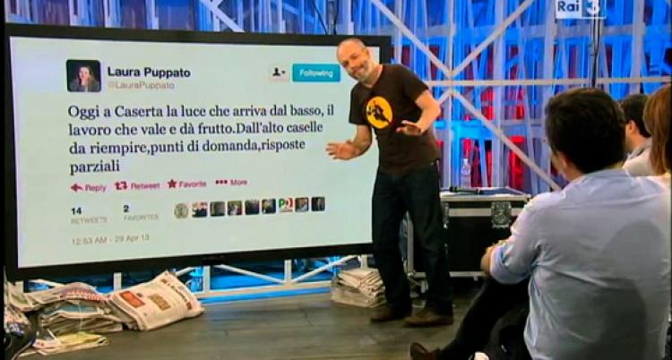 Diego Bianchi alla conduzione di Gazebo su Raitre