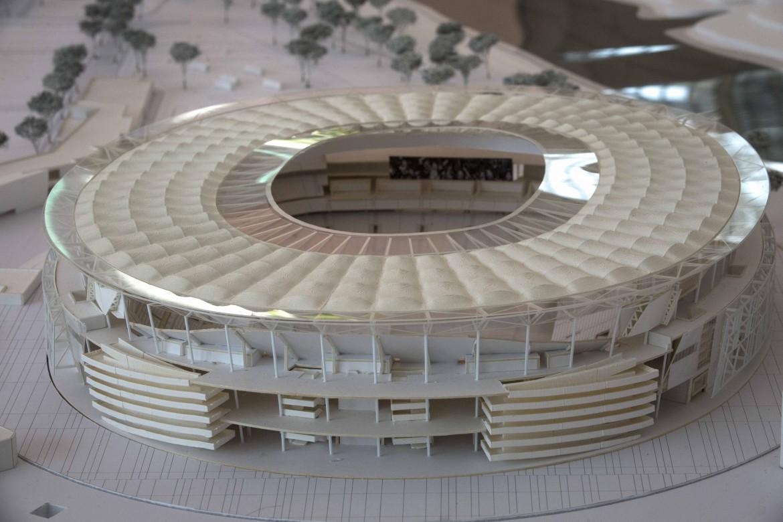Il modello del nuovo stadio della A.S. Roma