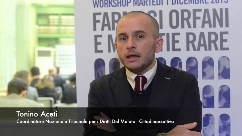 Tonino Aceti, coordinatore nazionale del Tribunale per i diritti del malato - Cittadinanzattiva