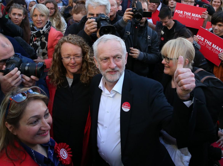 Il leader del Labour britannico, Jeremy Corbyn