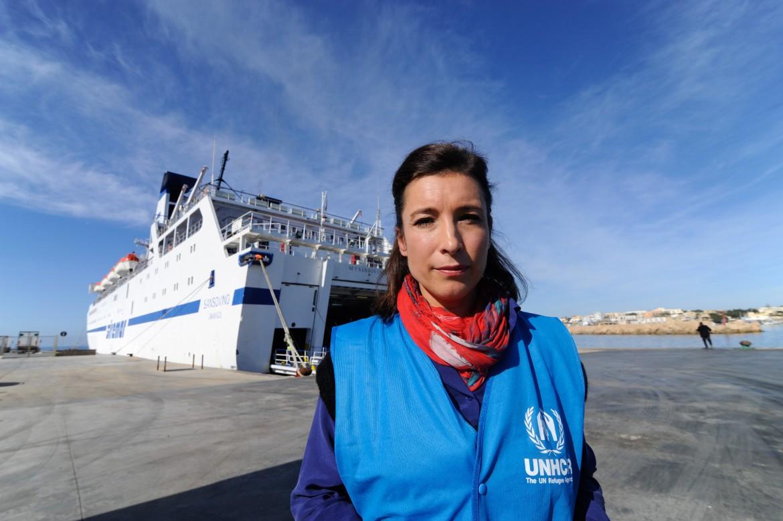 Carlotta Sami, portavoce Onu per iRifugiatiper il Sud Europa