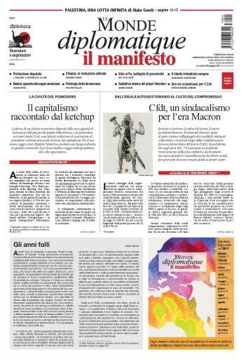 Le Monde diplomatique di giugno 2017