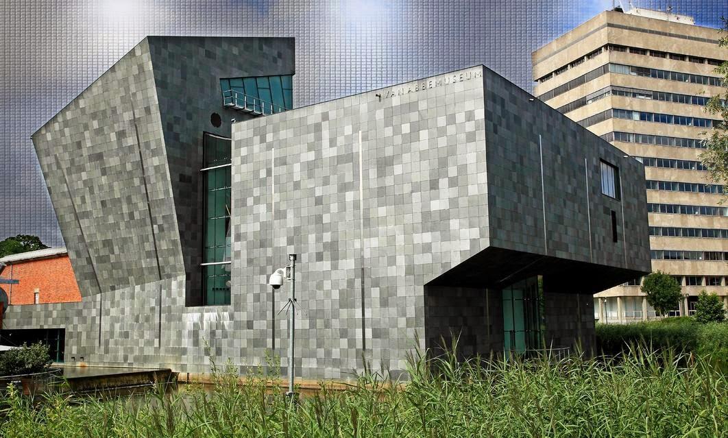 Il Van Abbemuseum di Eindhoven, l'ala nuova realizzata dall'architetto olandese Abel Cahen e inaugurata nel 2003
