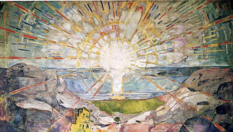 Edvard Munch, «Solen», Oslo, Munchmuseet