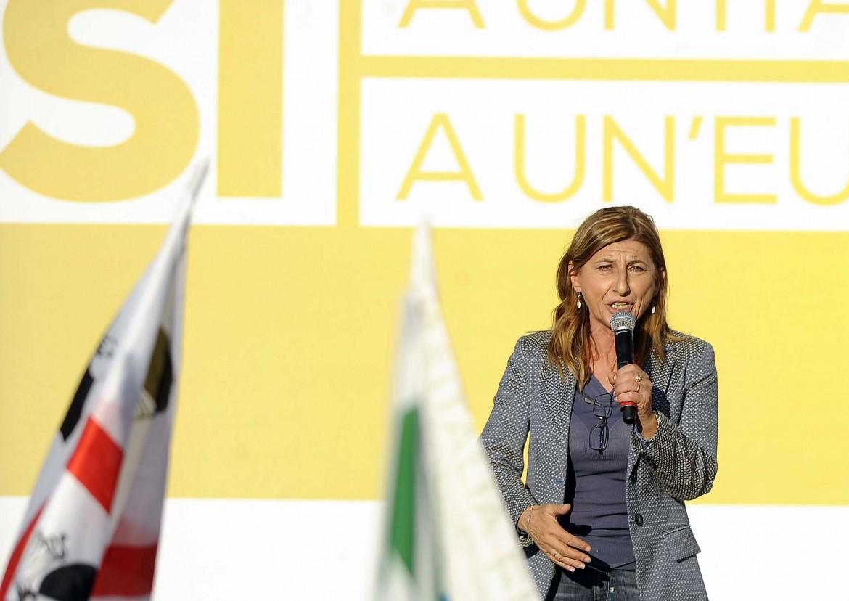 La sindaca di Lampedusa Giusi Nicoli