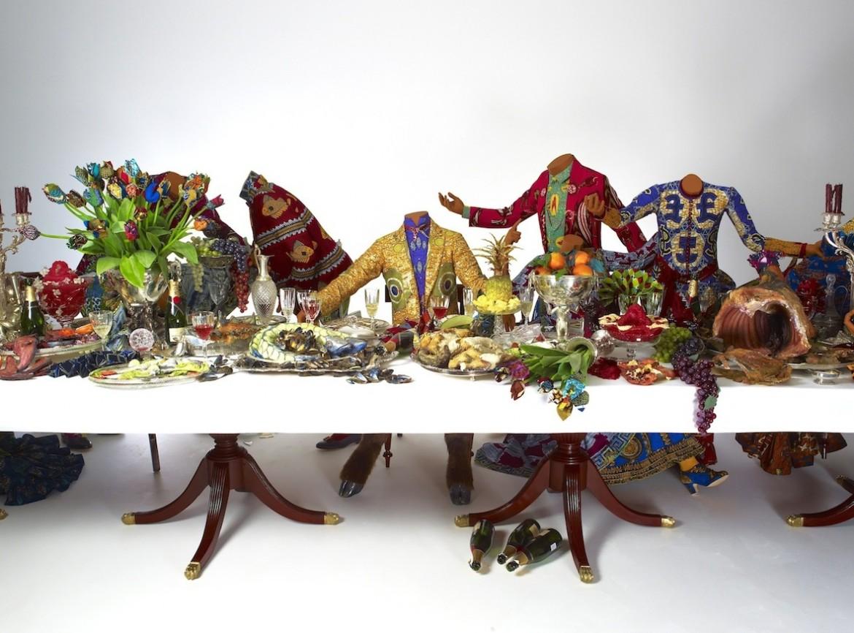Yinka Shonibare, «Last supper» (after Leonardo), 2013