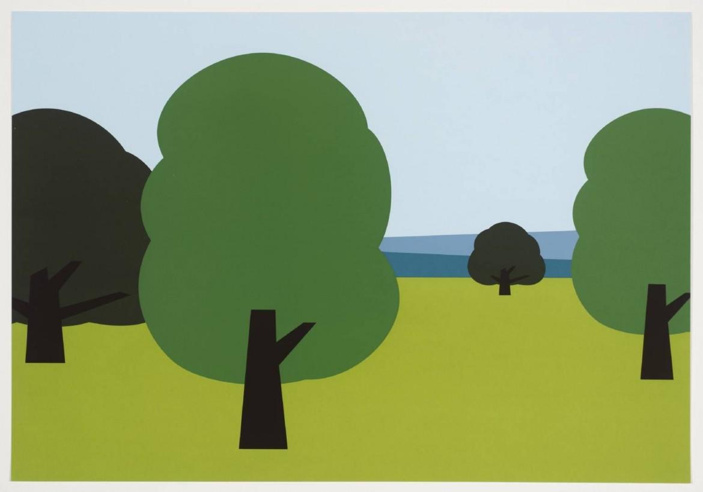 Julian Opie, «Landscape», 1998-9