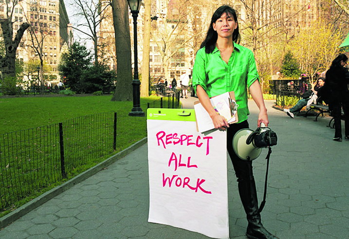 Ai-Jen Poo, National Domestic Workers Alliance e International Domestic Workers Federation
