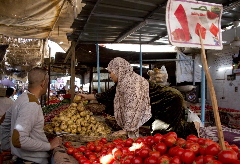 Un mercato al Cairo