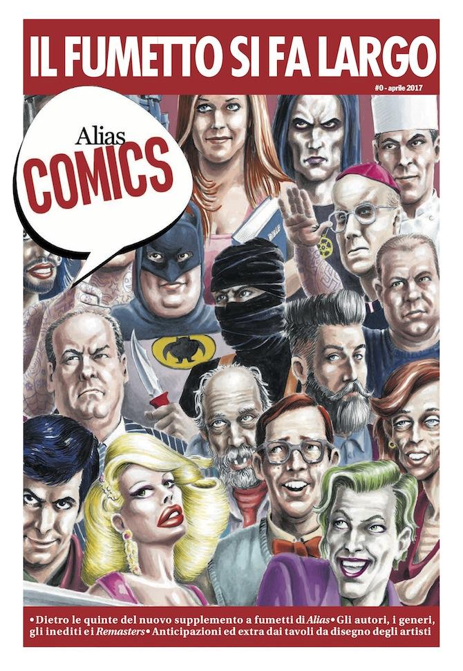 Alias Comics #0, in distribuzione gratuita con il manifesto e Alias sabato 23 giugno