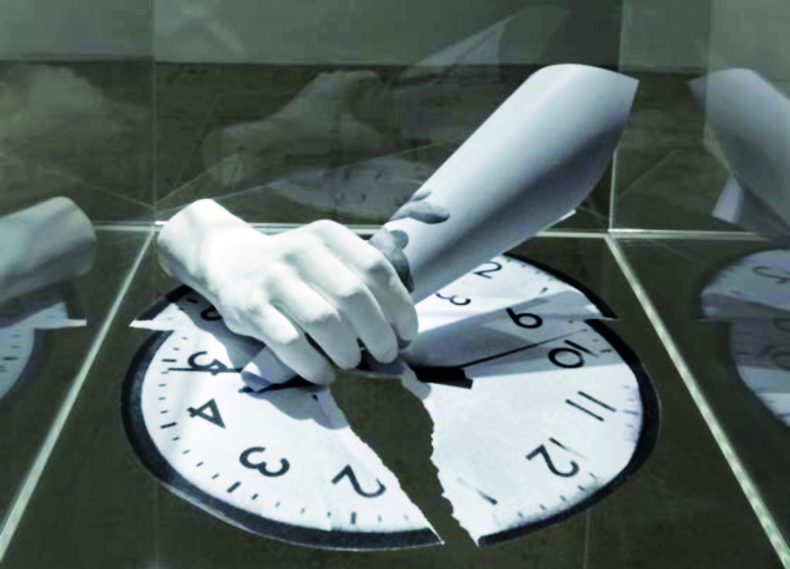 «Run Beyond», installazione di  Angelo Bonello