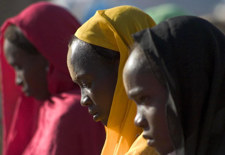 Donne migranti nel centro di detenzione libico di Abu Salim